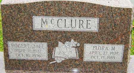 MCCLURE, FLORA - Franklin County, Ohio | FLORA MCCLURE - Ohio Gravestone Photos