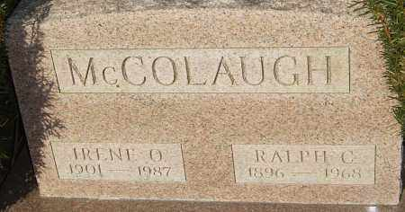 MCCOLAUGH, IRENE O - Franklin County, Ohio | IRENE O MCCOLAUGH - Ohio Gravestone Photos