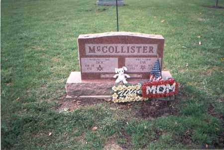 MCCOLLISTER, EVA - Franklin County, Ohio | EVA MCCOLLISTER - Ohio Gravestone Photos