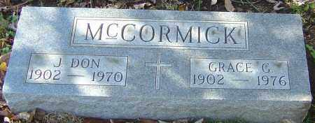MCCORMICK, GRACE G - Franklin County, Ohio | GRACE G MCCORMICK - Ohio Gravestone Photos