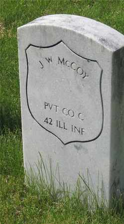 MCCOY, J. W. - Franklin County, Ohio | J. W. MCCOY - Ohio Gravestone Photos