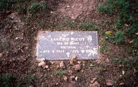MCCOY, LARRY D. - Franklin County, Ohio | LARRY D. MCCOY - Ohio Gravestone Photos