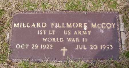 MCCOY, MILLARD FILLMORE - Franklin County, Ohio | MILLARD FILLMORE MCCOY - Ohio Gravestone Photos