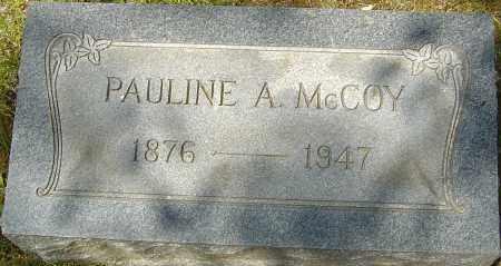 MCCOY, PAULINE ALICE - Franklin County, Ohio | PAULINE ALICE MCCOY - Ohio Gravestone Photos