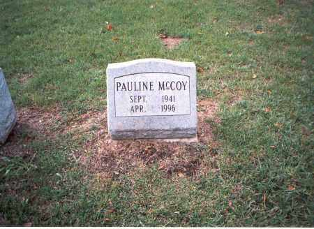 MCCOY, PAULINE - Franklin County, Ohio | PAULINE MCCOY - Ohio Gravestone Photos