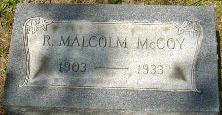 MCCOY, ROBERT MALCOLM - Franklin County, Ohio | ROBERT MALCOLM MCCOY - Ohio Gravestone Photos