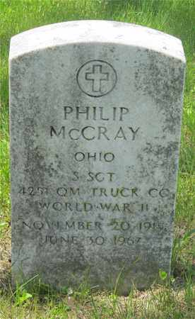 MCCRAY, PHILIP - Franklin County, Ohio | PHILIP MCCRAY - Ohio Gravestone Photos