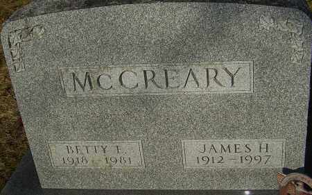 MCCREARY, JAMES H - Franklin County, Ohio | JAMES H MCCREARY - Ohio Gravestone Photos