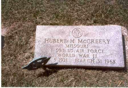 MCCREERY, HUBERT H. - Franklin County, Ohio | HUBERT H. MCCREERY - Ohio Gravestone Photos