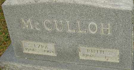 MCCULLOH, RUTH S - Franklin County, Ohio | RUTH S MCCULLOH - Ohio Gravestone Photos