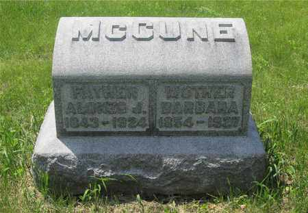 MCCUNE, ALONZO J. - Franklin County, Ohio | ALONZO J. MCCUNE - Ohio Gravestone Photos