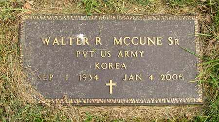 MCCUNE, WALTER R. - Franklin County, Ohio | WALTER R. MCCUNE - Ohio Gravestone Photos