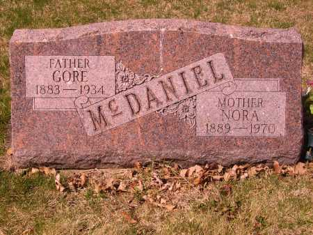 MCDANIEL, NORA - Franklin County, Ohio | NORA MCDANIEL - Ohio Gravestone Photos
