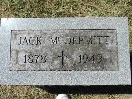 MCDERMITT, JACK - Franklin County, Ohio | JACK MCDERMITT - Ohio Gravestone Photos