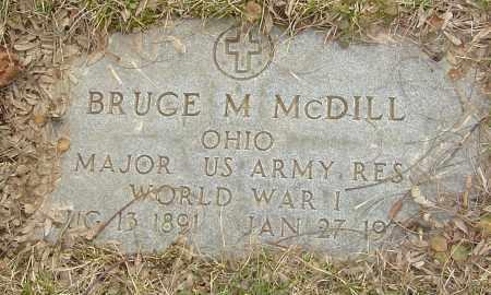 MCDILL, BRUCE M - Franklin County, Ohio | BRUCE M MCDILL - Ohio Gravestone Photos