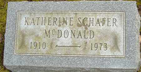 MCDONALD, KATHERINE - Franklin County, Ohio | KATHERINE MCDONALD - Ohio Gravestone Photos