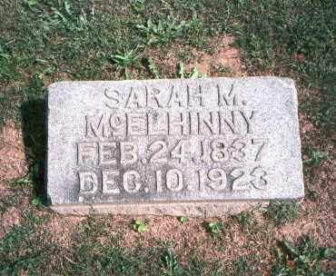 MCELHINNY, SARAH M. - Franklin County, Ohio | SARAH M. MCELHINNY - Ohio Gravestone Photos