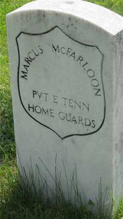 MCFARLOON, MARCUS - Franklin County, Ohio | MARCUS MCFARLOON - Ohio Gravestone Photos