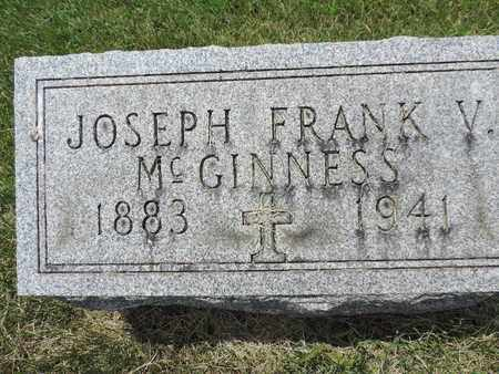 MCGINNESS, JOSEPH - Franklin County, Ohio | JOSEPH MCGINNESS - Ohio Gravestone Photos