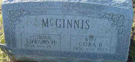 MCGINNIS, CORA BELLE - Franklin County, Ohio | CORA BELLE MCGINNIS - Ohio Gravestone Photos