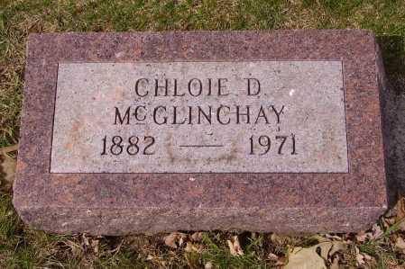 MCGLINCHAY, CHLOIE D. - Franklin County, Ohio | CHLOIE D. MCGLINCHAY - Ohio Gravestone Photos
