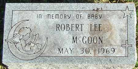 MCGOON, ROBERT LEE - Franklin County, Ohio | ROBERT LEE MCGOON - Ohio Gravestone Photos