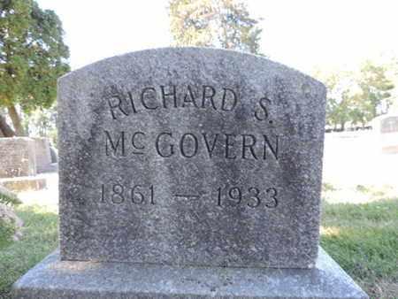 MCGOVERN, RICHARD S. - Franklin County, Ohio | RICHARD S. MCGOVERN - Ohio Gravestone Photos