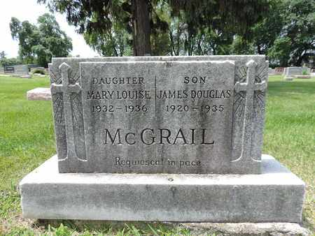 MCGRAIL, MARY LOUISE - Franklin County, Ohio | MARY LOUISE MCGRAIL - Ohio Gravestone Photos