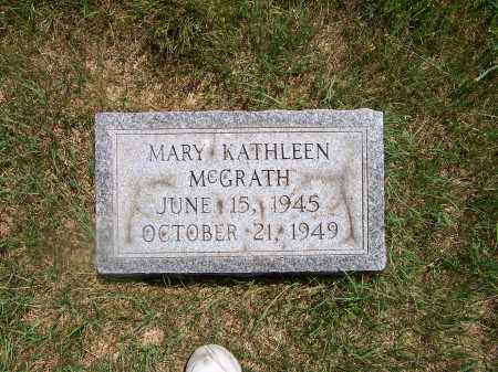 MCGRATH MCGRATH, MARY KATHLEEN - Franklin County, Ohio | MARY KATHLEEN MCGRATH MCGRATH - Ohio Gravestone Photos