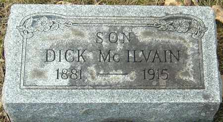 MCILVAIN, DICK - Franklin County, Ohio | DICK MCILVAIN - Ohio Gravestone Photos