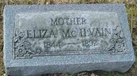 MCILVAIN, ELIZA - Franklin County, Ohio | ELIZA MCILVAIN - Ohio Gravestone Photos