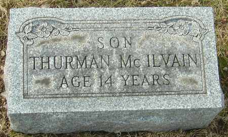 MCILVAIN, THURMAN - Franklin County, Ohio | THURMAN MCILVAIN - Ohio Gravestone Photos