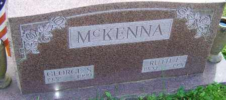 MCKENNA, RUTH - Franklin County, Ohio | RUTH MCKENNA - Ohio Gravestone Photos