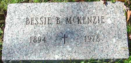 MCKENZIE, BESSIE B - Franklin County, Ohio | BESSIE B MCKENZIE - Ohio Gravestone Photos