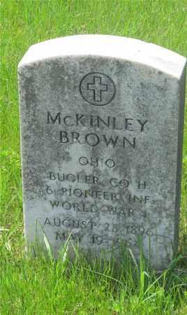 MCKINLEY, BROWN - Franklin County, Ohio | BROWN MCKINLEY - Ohio Gravestone Photos
