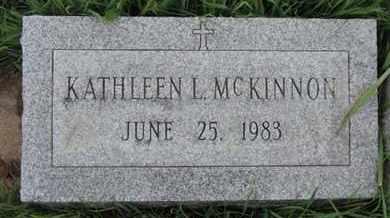 MCKINNON, KATHLEEN L - Franklin County, Ohio | KATHLEEN L MCKINNON - Ohio Gravestone Photos