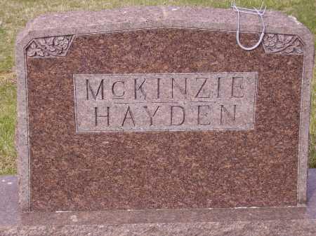 MCKINZIE  HAYDEN FAMILY, MONUMENT - Franklin County, Ohio | MONUMENT MCKINZIE  HAYDEN FAMILY - Ohio Gravestone Photos