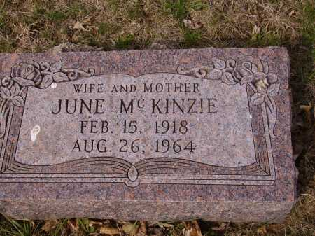 MCKINZIE, JUNE - Franklin County, Ohio | JUNE MCKINZIE - Ohio Gravestone Photos