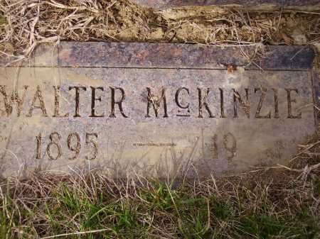MCKINZIE, WALTER - Franklin County, Ohio | WALTER MCKINZIE - Ohio Gravestone Photos