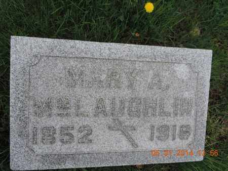 MCLAUGHLIN, MARY A - Franklin County, Ohio | MARY A MCLAUGHLIN - Ohio Gravestone Photos