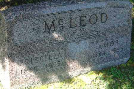 MCLEOD, AMOS - Franklin County, Ohio | AMOS MCLEOD - Ohio Gravestone Photos