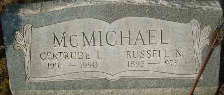 MCMICHAEL, RUSSELL N - Franklin County, Ohio | RUSSELL N MCMICHAEL - Ohio Gravestone Photos