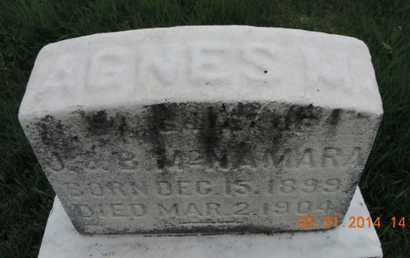 MCNAMARA, AGNES M - Franklin County, Ohio | AGNES M MCNAMARA - Ohio Gravestone Photos
