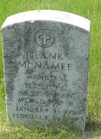 MCNAMEE, FRANK - Franklin County, Ohio | FRANK MCNAMEE - Ohio Gravestone Photos