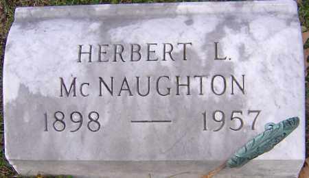 MCNAUGHTON, HERBERT - Franklin County, Ohio | HERBERT MCNAUGHTON - Ohio Gravestone Photos