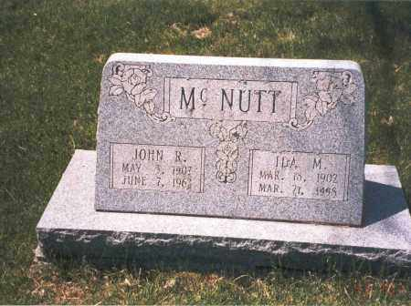 MCNUTT, IDA M. - Franklin County, Ohio | IDA M. MCNUTT - Ohio Gravestone Photos