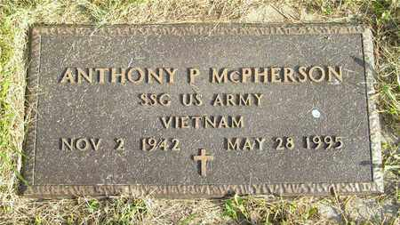 MCPHERSON, ANTHONY P. - Franklin County, Ohio | ANTHONY P. MCPHERSON - Ohio Gravestone Photos
