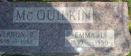 MCQUILKIN, EMMA L - Franklin County, Ohio | EMMA L MCQUILKIN - Ohio Gravestone Photos