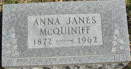 MCQUINIFF, ANNA - Franklin County, Ohio | ANNA MCQUINIFF - Ohio Gravestone Photos