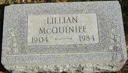 MCQUINIFF, LILLIAN - Franklin County, Ohio | LILLIAN MCQUINIFF - Ohio Gravestone Photos